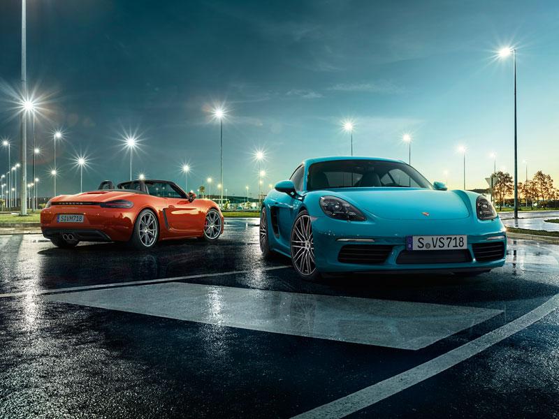 Porsche nový 718 Boxster - Mikrostránka