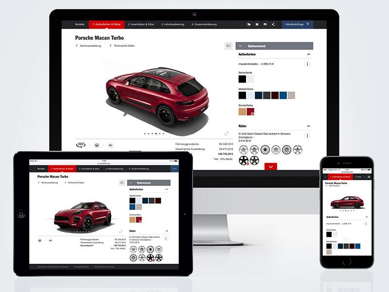 Porsche - Car Configurator