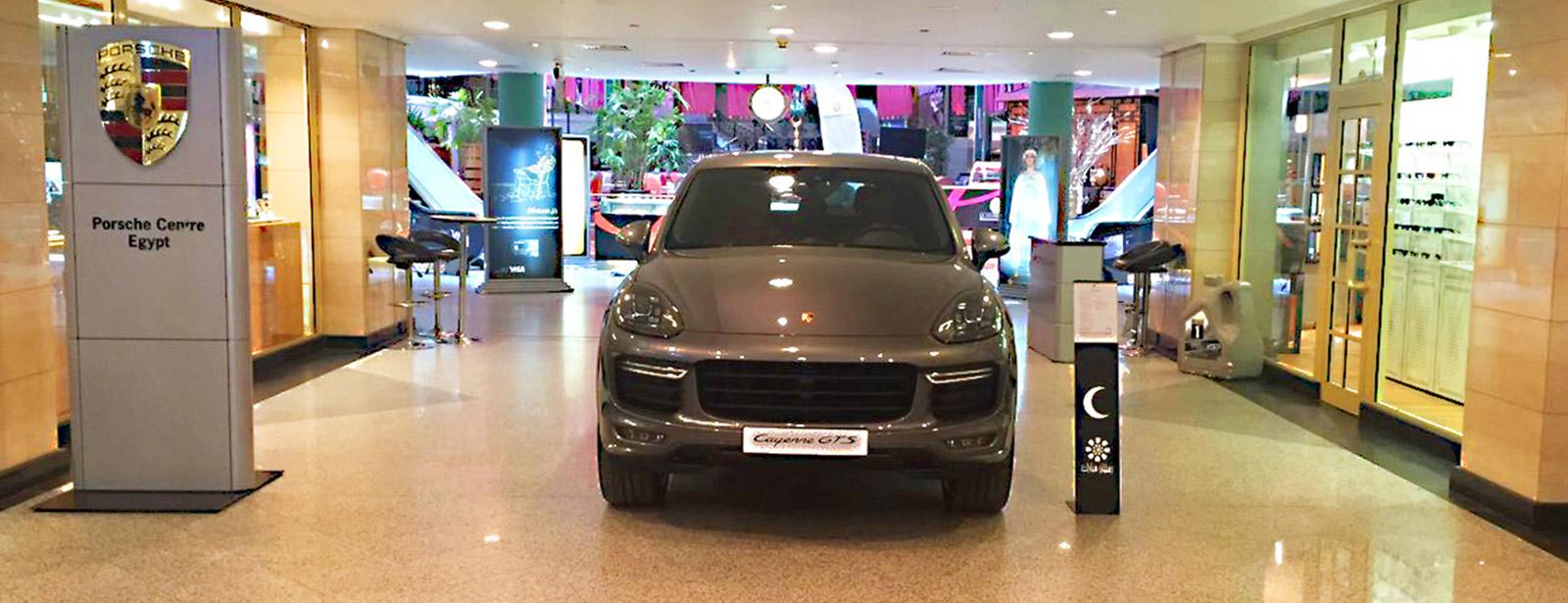 Until Saturday Juli 2nd, 2016 | Porsche Cayenne GTS in First Mall