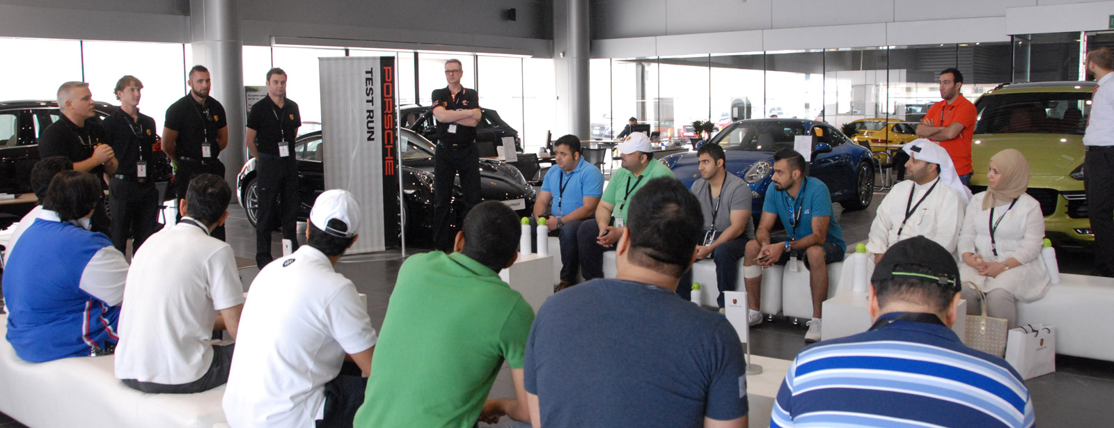 May 2015 | Porsche Centre Kuwait concludes yet another successful Test Run Event