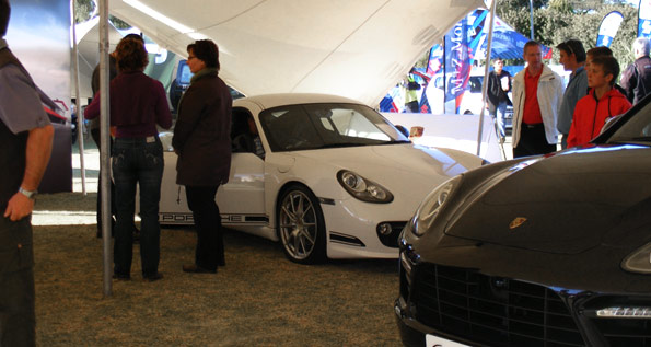 Car Expo Standsaur : Porsche centre south africa participate at the standard