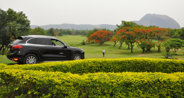 May, 2012   Porsche Centre Lagos.At the IBB Golf clubs captains day.