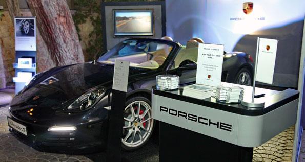 October 2012 | Porsche Centre Jordan. At the King Hussein Club.