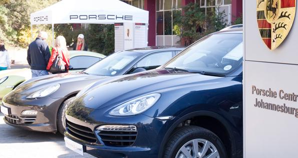 Porsche Kids Driving School At German School Bazaar Porsche Middle East