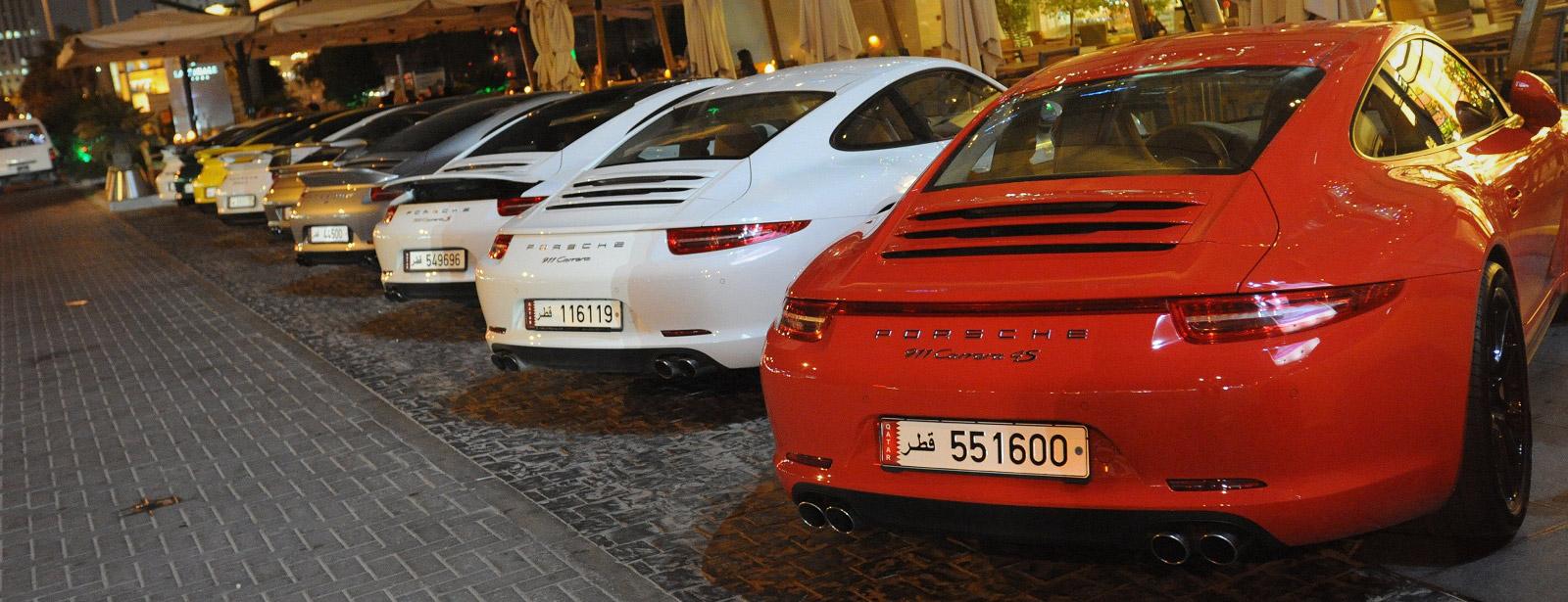 Porsche 911 Fans Group In Qatar Porsche Middle East