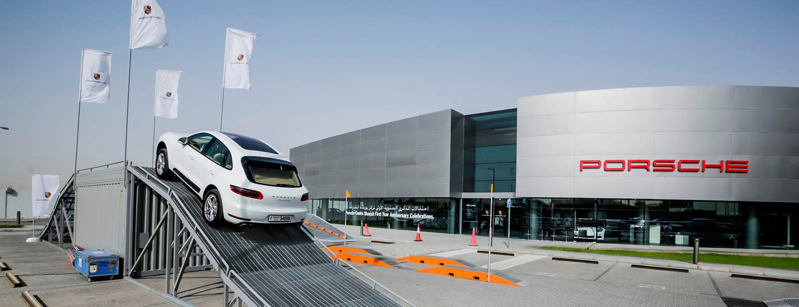 Porsche Centre Sharjah First Year Anniversary.