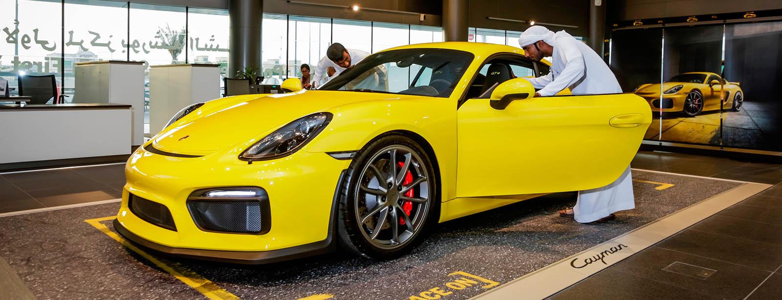 Porsche Centre Sharjah First Year Anniversary Porsche
