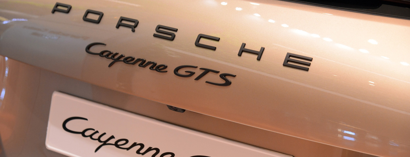 Porsche Centre Kuwait: Cayenne GTS Exclusive Palladium