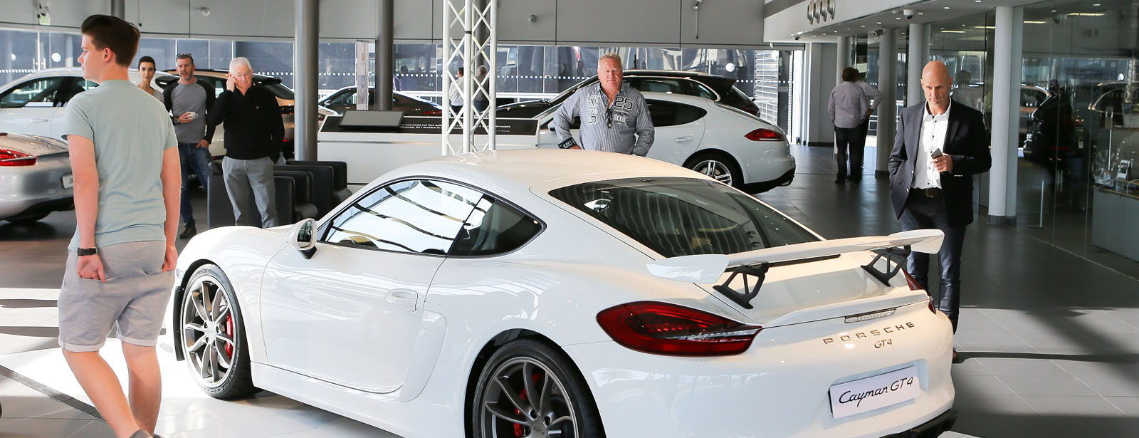 Porsche The New Cayman Gt4 In South Africa Porsche Middle East