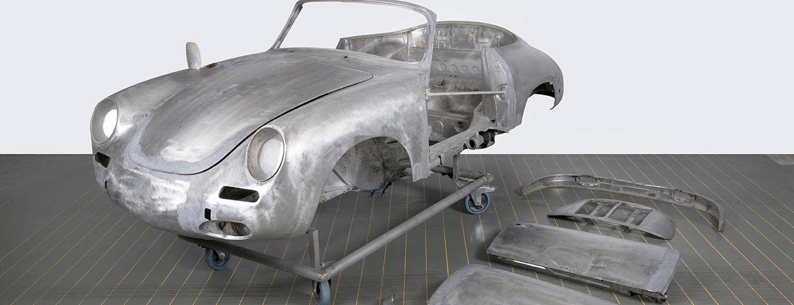 Porsche - Paint removal