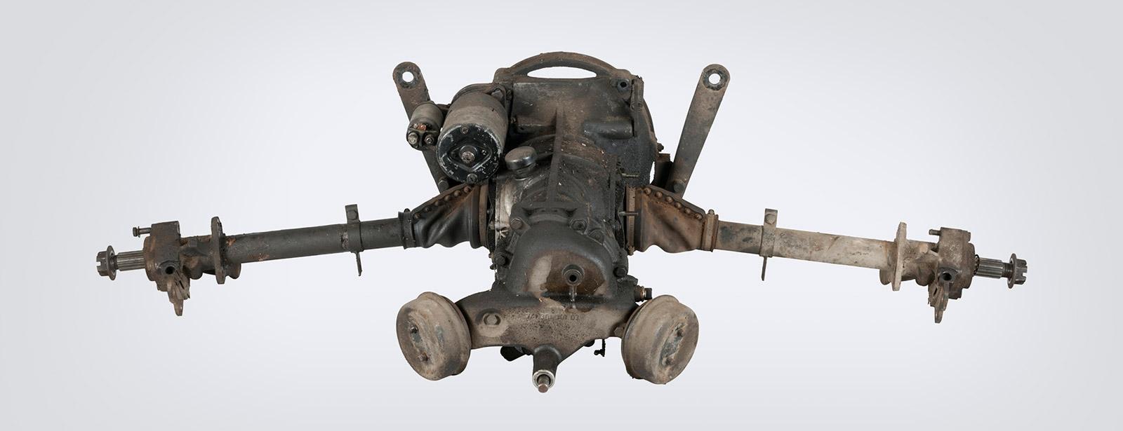 Porsche - Boîte de vitesses - Entrée