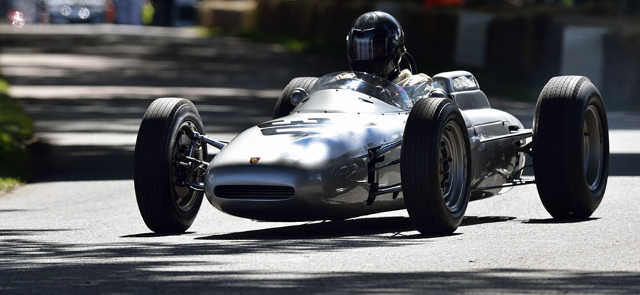 2012 The Porsche 804 Formula 1 at the Goodwood Festival of Speed in the United Kingdom.