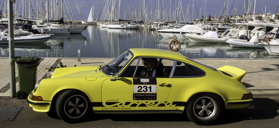 2012: The Porsche 911 2.7 RS at the Targa Florio on Sicily.