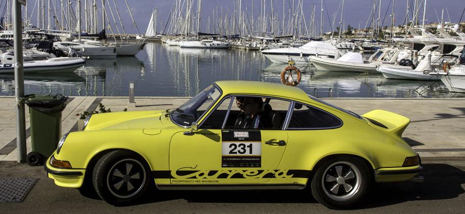 2012: Der Porsche 911 2.7 RS bei der Targa Florio auf Sizilien.