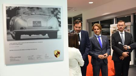Луксузните модели на Porsche во нов ексклузивен салон