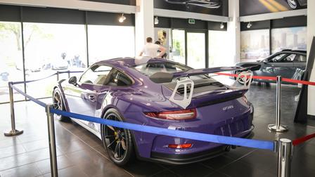 Презентация Нового Porsche 911 GT3 RS
