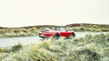 Porsche Von der grünen Hölle ab auf die Insel