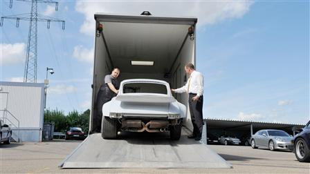 Porsche Arrival and disassembly