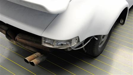 Porsche - Прибытие и разборка