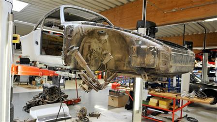 Porsche - Arrival and disassembly