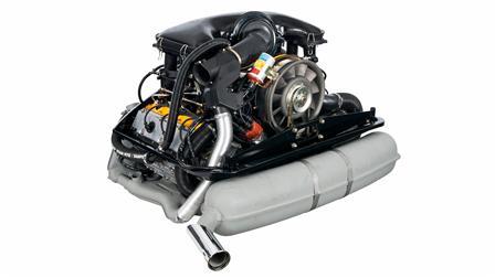 Porsche - Двигатель