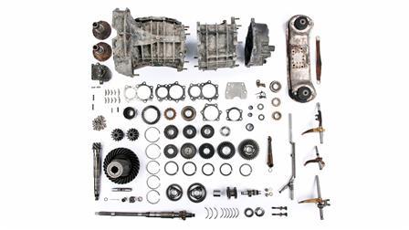 Porsche - Caja de cambios