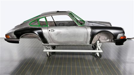 Porsche - Body Work: Reconstruction