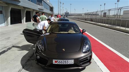 Porsche The New 911 Drive Experience.
