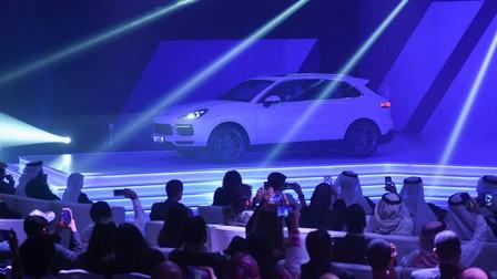 Porsche Centre Bahrain launches the new Cayenne.