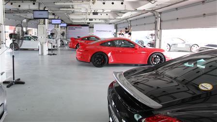 Porsche Sport Driving School Precision Training in Bahrain