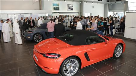 Porsche - The Stunning Reveal of the Sportiest Car of All Time in Kuwait