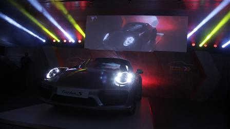 Porsche - The Resplendent Unveiling of the New 911 in Kuwait