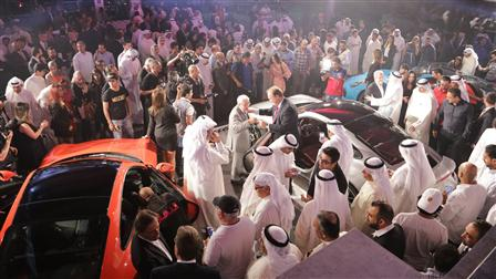 Porsche The Resplendent Unveiling of the New 911 in Kuwait
