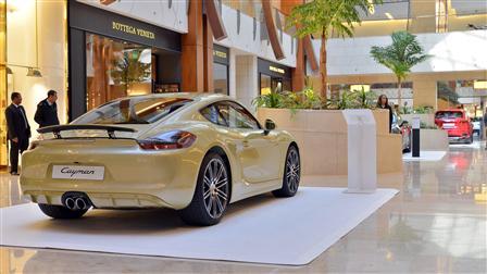 Porsche Centre Kuwait Participates in Auto Moto 2016