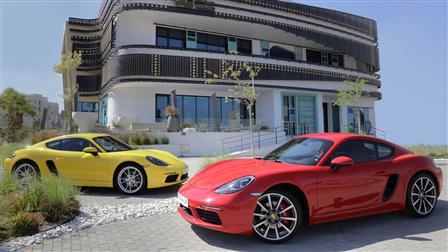 Porsche Centre Kuwait Unveils Newest Sports Coupé, the 718 Cayman