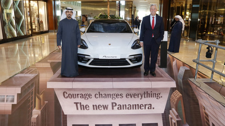Porsche performance personified once again at Auto Moto 17