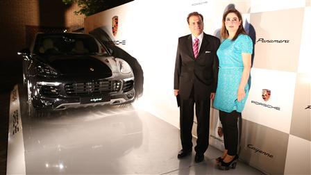 Porsche sponsors the Flamenco Night at the Spanish Embassy