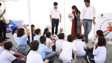 Porsche Kids Driving School at Lahore Grammar School International