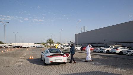 Macan GTS showcased at Porsche Centre Sharjah.