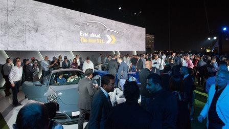 Porsche Centre Dubai celebrates arrival of the new Porsche 911