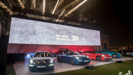 Porsche Centre Dubai celebrates arrival of the new Porsche 911