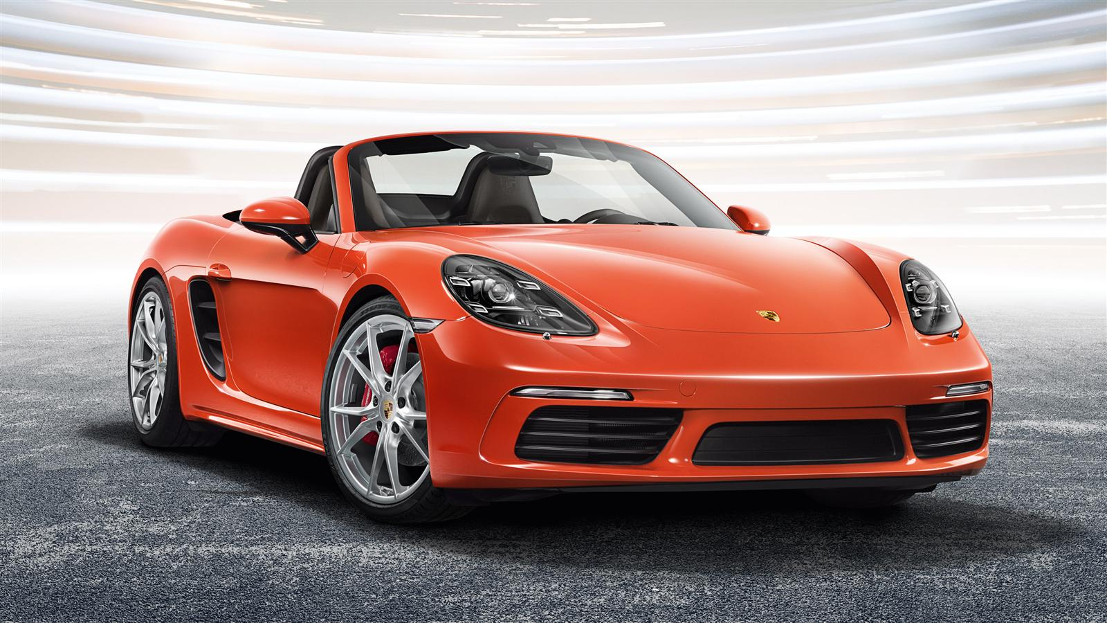 Porsche The New 718 Boxster S Gallery Amp Downloads