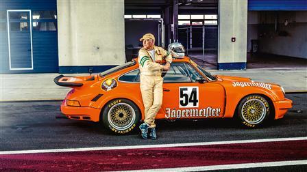 911 RSR from 1974, Eckhard Schimpf (Race driver)