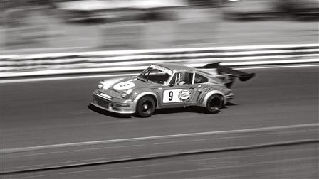 Porsche 911 Carrera RSR Turbo at Le Mans in 1974