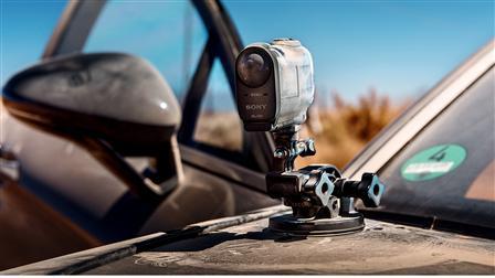 Camera at the new Porsche Panamera