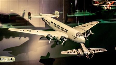 Models of airplanes