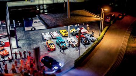 Miniature Porsche