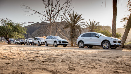 Porsche Travel Club - Namibia