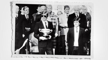 Victory ceremony in Monte-Carlo (1980)