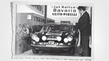 Walter Röhrl at Bavaria Rally (1970)